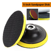 Self-Adhesive Polishing Pad 5Inch Sandpaper Sucker Polishing Disc For Electric Grinder Polisher-Abrasive Tools-Relax Yourselves Store-EpicWorldStore.com