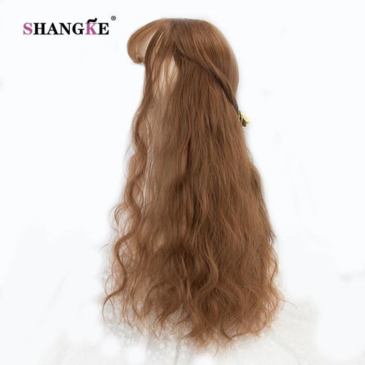 Shangke 26'' Long Kinky Hair Wig Heat Resistant Synthetic Wigs For Women Natural Fake Hair With-Shop2178032 Store-#4-EpicWorldStore.com
