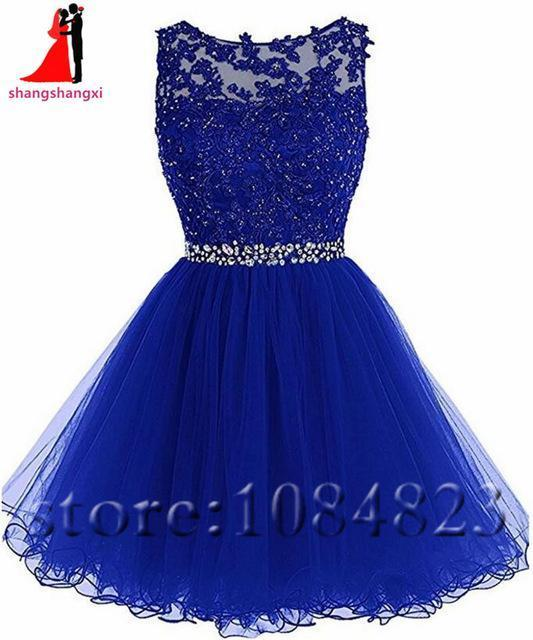 Short Prom Dress Homecoming Dresses For Girls Cheap Plus Size Appliques  Beaded Ball Gown