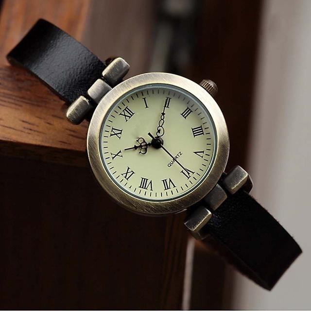 Shsby New Hot-Selling Leather Female Watch Roma Vintage Watch Women Dress Watches-Women's Watches-shsby watch Store-Black-EpicWorldStore.com