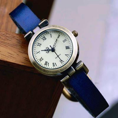 Shsby New Hot-Selling Leather Female Watch Roma Vintage Watch Women Dress Watches-Women's Watches-shsby watch Store-Blue-EpicWorldStore.com