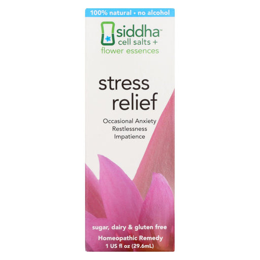 Siddha Flower Essences Stress Relief - 1 Fl Oz-Eco-Friendly Home & Grocery-Siddha Flower Essences-EpicWorldStore.com