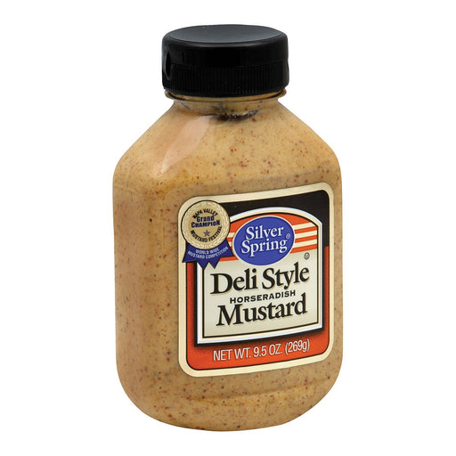 Silver Spring Mustard - Deli Style - Squeeze - Case Of 9 - 9.5 Oz-Eco-Friendly Home & Grocery-Silver Spring-EpicWorldStore.com