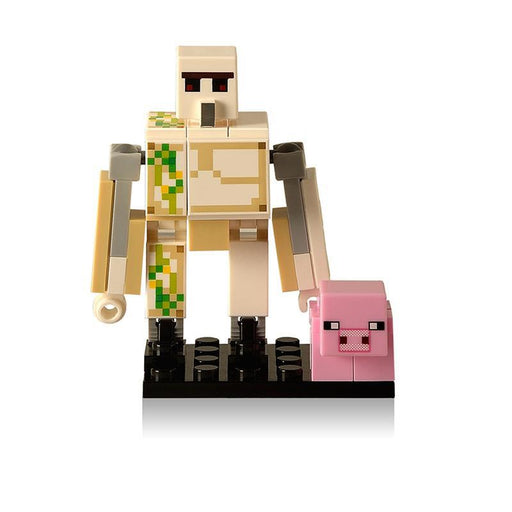 Single Sale Diy Bricks Style Mini Zombie Minecrafted Steve Figure Building Blocks Toys Legoings-Model Building-DVA World Bricks Store-355-EpicWorldStore.com