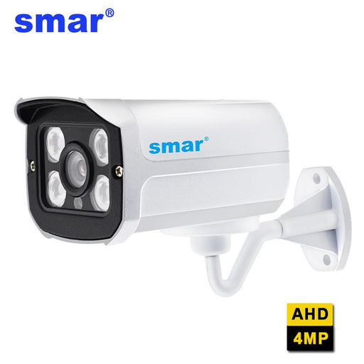 Smar Super Hd 4Mp Ahd Camera Outdoor Waterproof Security Cctv Video Surveillance Camera Bullet-smar Direct Store-PAL-2.8mm-EpicWorldStore.com