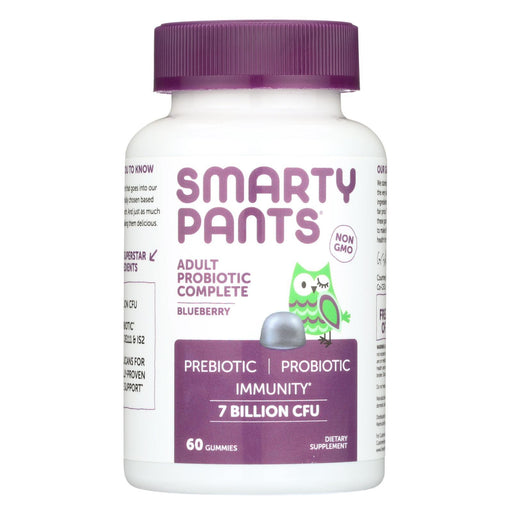 Smartypants Adult Probioic - Blueberry - 60 Count-Eco-Friendly Home & Grocery-Smartypants-EpicWorldStore.com