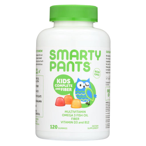 Smartypants Multivitamin - Kids Complete And Fiber Gummy - 120 Count-Eco-Friendly Home & Grocery-Smartypants-EpicWorldStore.com