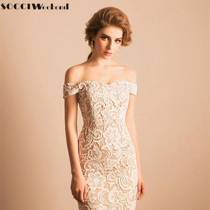Cocktail Dresses with Lace