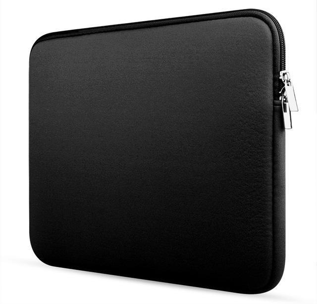 low priced feb27 34ff9 Soft Laptop Sleeve Bag Case For Macbook Air 11 12 13 14 15 15.6 Pro Retina  11.6 13.3 Inch Zipper