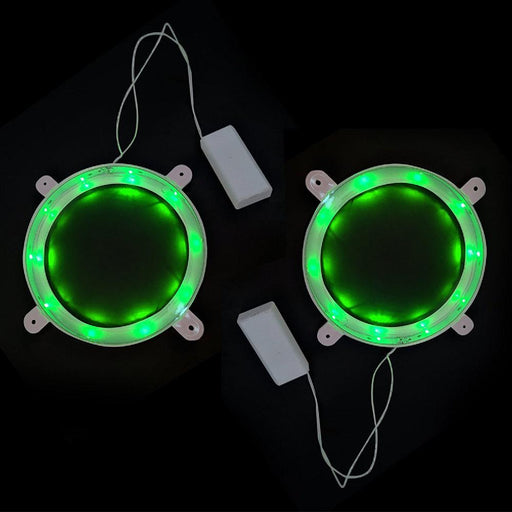 "Solled 6"" Cornhole Night Light, Smd 3528 Led Corn Hole Light Set For Bean Bag Board, Pack Of 2-Cornhole-SOLLED Official Store-Green-EpicWorldStore.com"