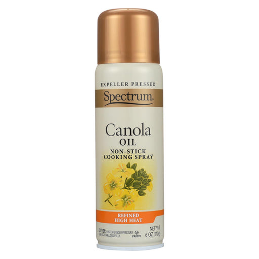 Spectrum Naturals Spray Oil - Canola - High Heat - 6 Oz - Case Of 6-Eco-Friendly Home & Grocery-Spectrum Naturals-EpicWorldStore.com
