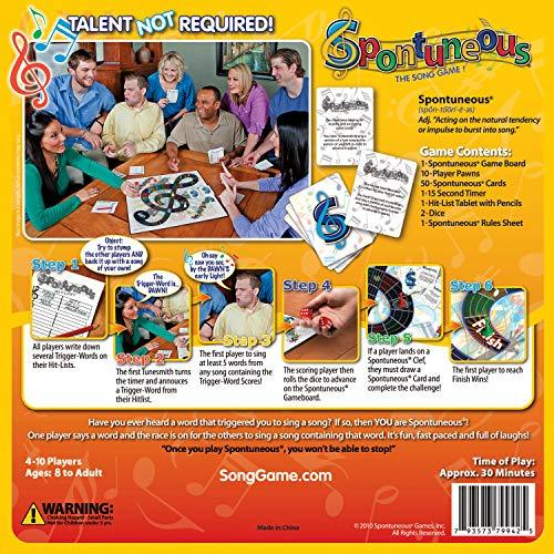 Spontuneous - The Song Game - Sing It Or Shout It-Home Essentials-Amazon-EpicWorldStore.com