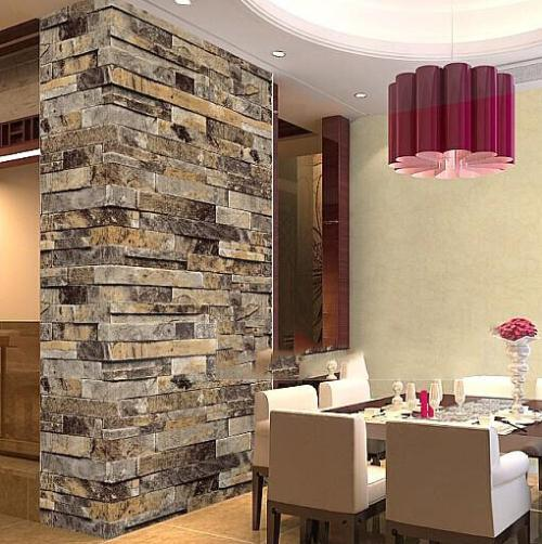 . Stone Brick 3D Wallpaper Bedroom Living Room Background Wall Vinyl Retro  Wall Paper Roll Rustic Faux