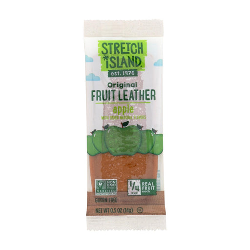 Stretch Island Fruit Leather Strip - Autumn Apple - .5 Oz - Case Of 30-Eco-Friendly Home & Grocery-Stretch Island-EpicWorldStore.com