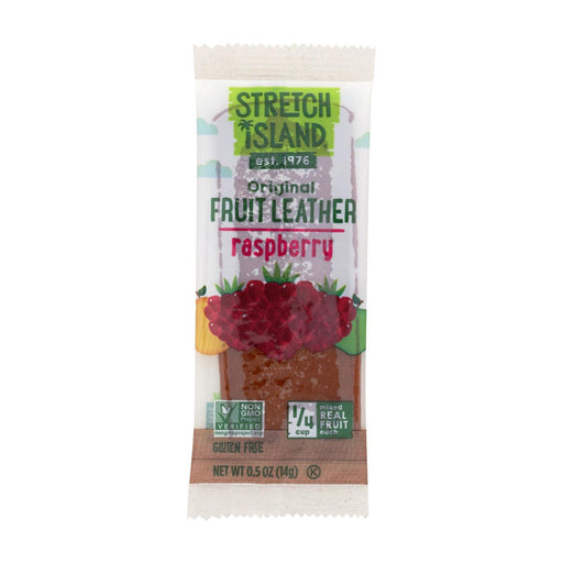 Stretch Island Fruit Leather Strip - Ripened Raspberry - .5 Oz - Case Of 30-Eco-Friendly Home & Grocery-Stretch Island-EpicWorldStore.com