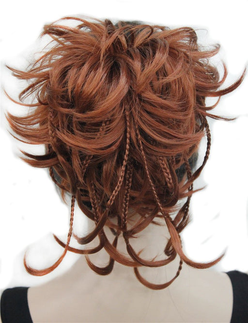 Strongbeauty Synthetic Diy Hair Red Blonde Brown Black Braid Drawstring Ponytail Clip In/On Hair-kerry ji's store-RM73-EpicWorldStore.com