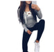 Stylish Casual Kawaii Hoodies Sweatshirts Women Long Sleeve V-Neck Bandage Hoodies-Hoodies & Sweatshirts-iFashion (Hong Kong) Limited-Black-S-EpicWorldStore.com