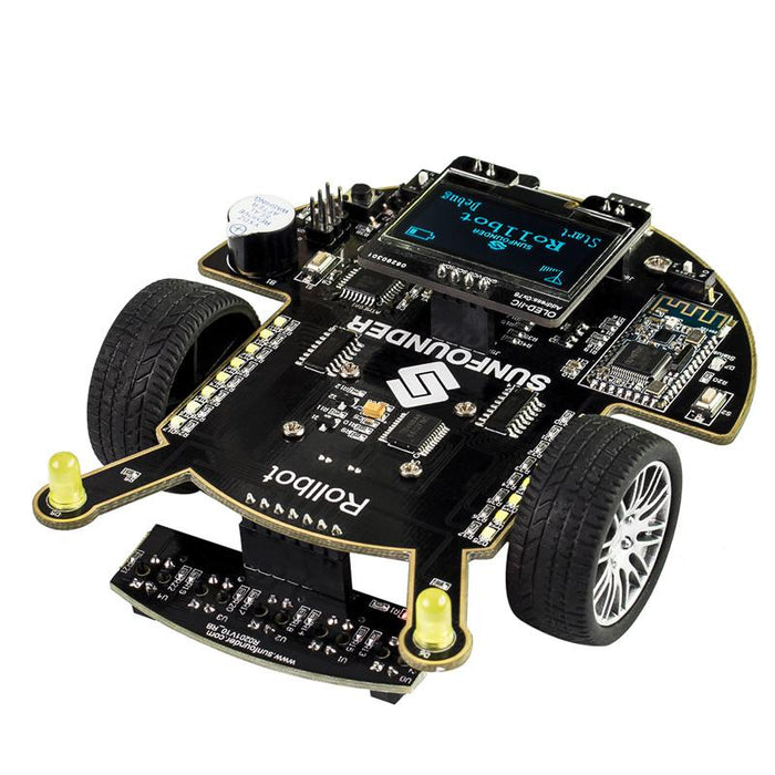 Sunfounder App Controlled Toy For Arduino Educational Diy Robot Kit