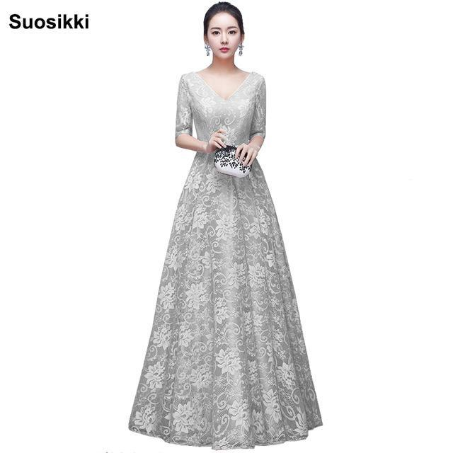 Suosikki Special Occasion Elegant Mother Of The Bride Dresses Long  Floor-Length Plus Size Wedding
