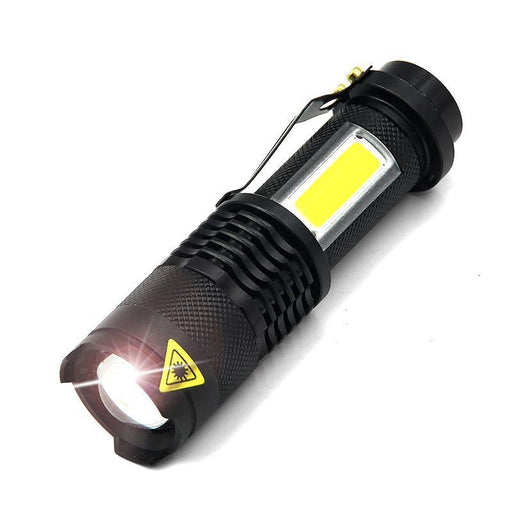 Super Bright Mini Cob Led Flashlight Cree Xml Q5 Led Torch Cob Flashlights 4 Modes Portable Lights-Brightfire Official Store-EpicWorldStore.com