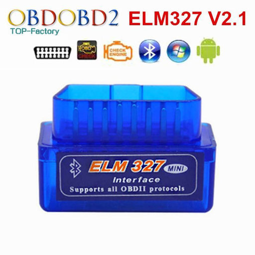 Super Mini Elm327 Bluetooth V2.1 Obd2 Car Diagnostic Tool Mini Elm 327 Bluetooth For-OBDOBD2 Electronic Tech Co.,Ltd-White-EpicWorldStore.com