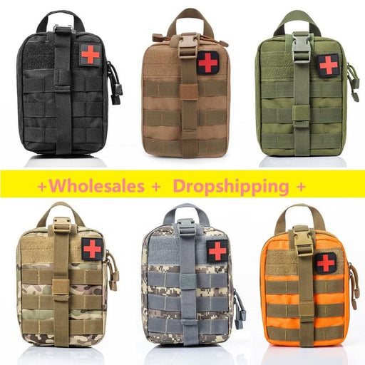 Survival Pouch Outdoor Medical Box Large Size Sos Bag/Package Tactical First Aid Bag Medical Kit Bag-Emergency Kits-LEVCOECAM Official Store-CP camouflage-EpicWorldStore.com