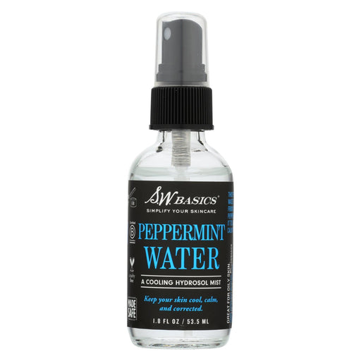 S.W. Basics - Peppermint Water - 1.8 Fl Oz.-Eco-Friendly Home & Grocery-S.w. Basics-EpicWorldStore.com