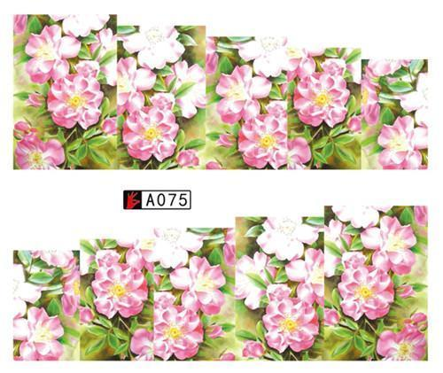 Sweet Trend 1Sheet Rose Flower Nail Art Water Transfer Stickers Decals Tip Decoration Diy-Nails & Tools-SWEETTREND nail art Store-A075-EpicWorldStore.com