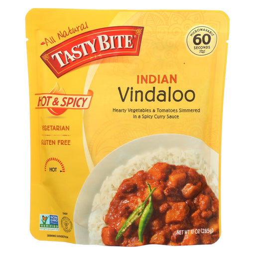 Tasty Bite Heat & Eat Indian Cuisine Entr?E - Hot & Spicy Vindaloo - Case Of 6 - 10 Oz-Eco-Friendly Home & Grocery-Tasty Bite-EpicWorldStore.com