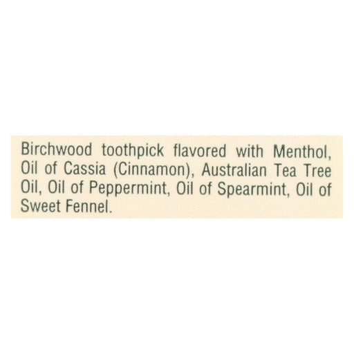 Tea Tree Therapy Toothpicks - 100 Toothpicks - Case Of 12-Eco-Friendly Home & Grocery-Tea Tree Therapy-EpicWorldStore.com