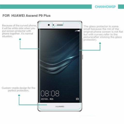 Tempered Glass Film For Huawei Ascend P8 P9 Lite Gr3 Gr5 Y6 Pro Y3 Ii Y5 Ii 2 Y6Ii Honor 4C 5X-Mobile Phone Accessories-CHANHOW Store-For P8-EpicWorldStore.com
