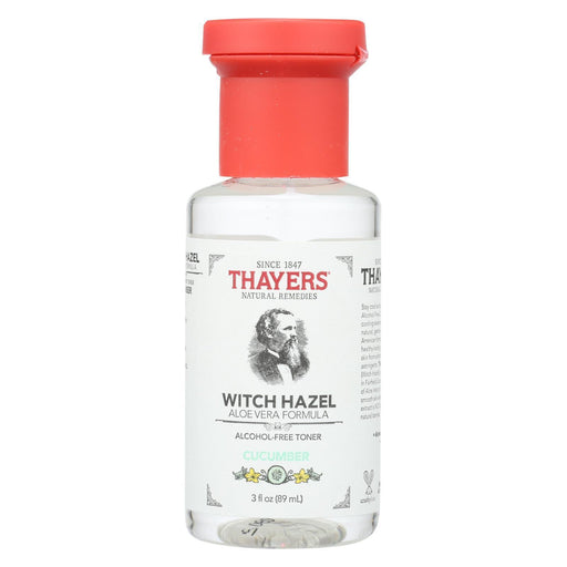 Thayers Witch Hazel Astringent - Cucumber - Case Of 24 - 3 Fl Oz-Eco-Friendly Home & Grocery-Thayers-EpicWorldStore.com