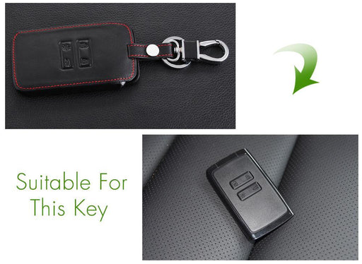 Thie2E Leather Car Key Cover Case Car Styling Cover For Renault Kadjar Clio Logan Megane 2 3-Interior Accessories-CTV Store-A Style-EpicWorldStore.com