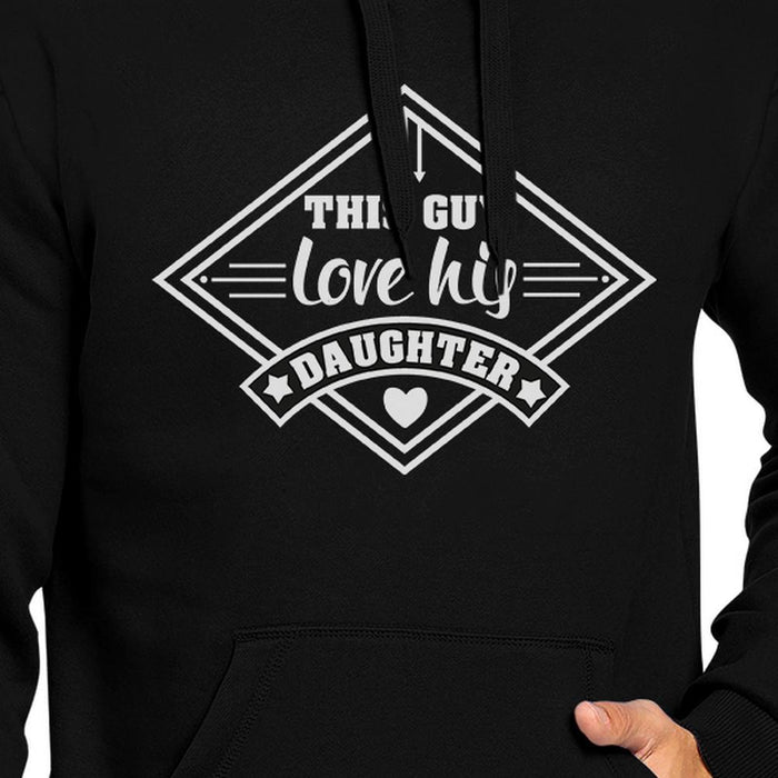 This Guy Love His Daughter Unisex Hoodie New Dad Gift From Wife-Apparel & Accessories