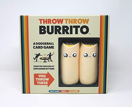 Throw Throw Burrito / A Dodgeball Card Game-Home Essentials-Amazon-EpicWorldStore.com