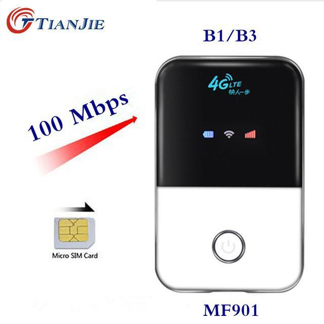 Tianjie 4G Wifi Router Mini Router 3G 4G Lte Wireless Portable Pocket Wi Fi  Mobile Hotspot Car Wi-Fi
