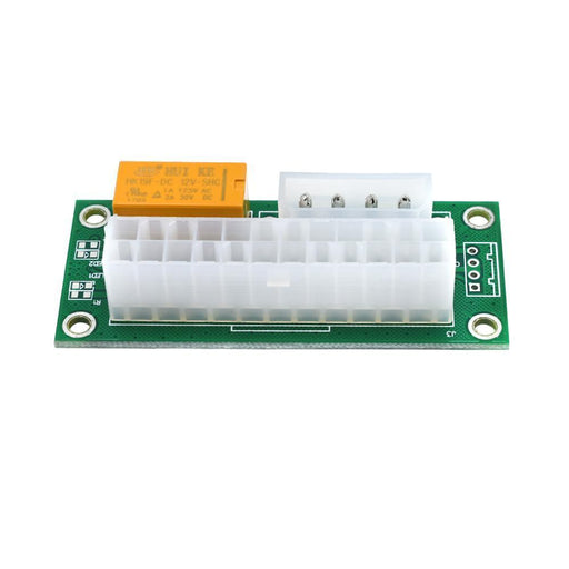 Tishric Newest Atx 24Pin To Molex 4Pin Dual Psu Power Supply Sync Starter Extender Cable Card-Accessories & Parts-ShenZhen TISHRIC Factory Store-EpicWorldStore.com