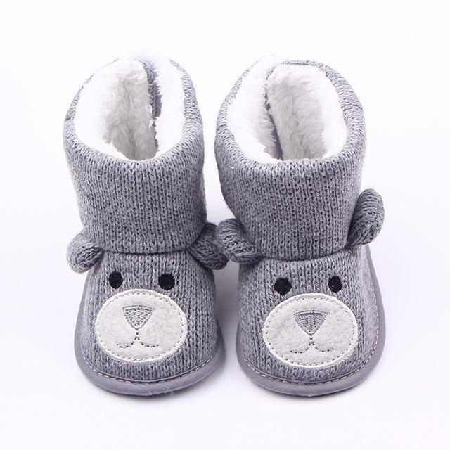 f1bd30a282dcc Tongyouyuan Winter Warm Baby Boy Shoes First Walkers Knitted Sweaters Boots  Booty Crib Babe Girls-