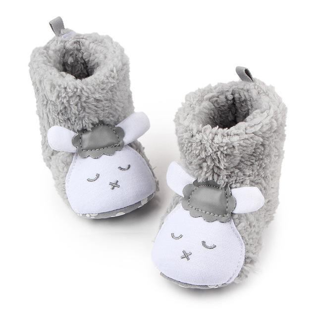 6504757d9d83 Tongyouyuan Winter Warm Baby Boy Shoes First Walkers Knitted ...