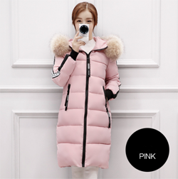 Top Brand New Parkas Female Women Winter Coat Thickening Cotton Jacket Outwear Long-Jackets & Coats-ZHIYAN Store-1B-M-EpicWorldStore.com