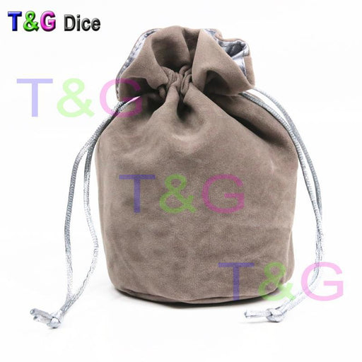 "Top Quality Dice Bag Jewelry Packing Velvet Bag 6*5.5"" Velvet Drawstring Bags & Pouches For Gift-Entertainment-T&G Plastic Products Manufactory-Red-EpicWorldStore.com"