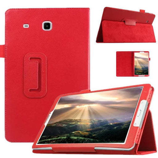 Top Quality Smart Pu Leather Cover For Samsung Galaxy Tab E 9.6 T560 T561 Tablet Case Tablet Slim-Tablet Accessories-Youhin International-rose red-EpicWorldStore.com