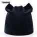 Tqmsmy Women Autumn And Winter Beanie Hat Russian Warm Caps Womens Cat Beanies Ear Flaps Hat Ladies-Accessories-TQMSMY-BLUE-EpicWorldStore.com