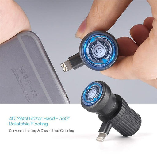 Travel Razor Mini Smartphone Shaving For Android Iphone Cell Phone Outdoor Portable Micro Usb-Electric Shavers-Mwarm House Store-iPhone Power Supply-EpicWorldStore.com
