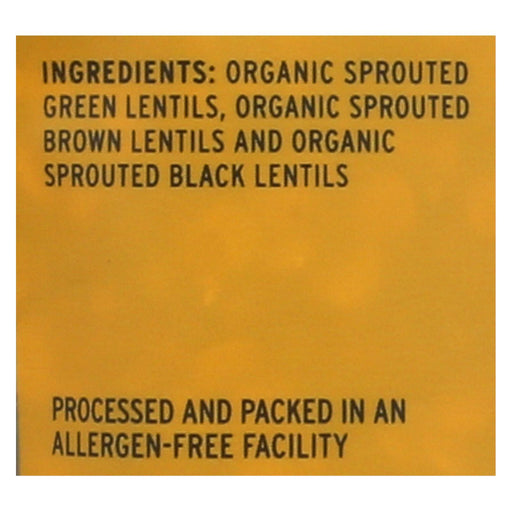 Truroots Organic Trio Lentils - Accents Sprouted - Case Of 6 - 8 Oz.-Eco-Friendly Home & Grocery-Truroots-EpicWorldStore.com