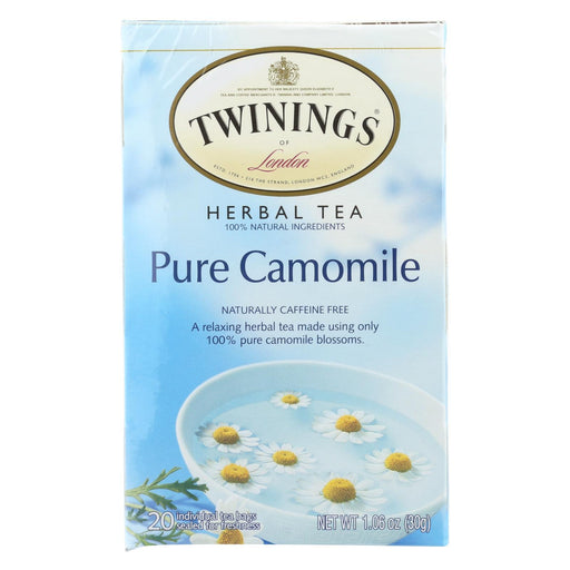 Twining'S Tea Jacksons Of Piccadilly Tea - Pure Chamomile - Case Of 6 - 20 Bags-Eco-Friendly Home & Grocery-Twinings Tea-EpicWorldStore.com