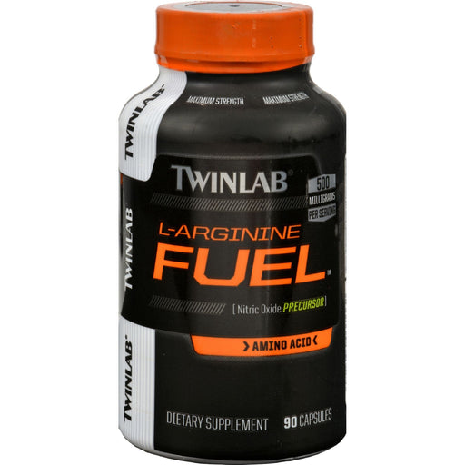 Twinlab L-Arginine Fuel - 500 Mg - 90 Capsules-Eco-Friendly Home & Grocery-Twinlab-EpicWorldStore.com