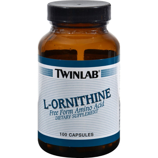 Twinlab L-Ornithine - 500 Mg - 100 Capsules-Eco-Friendly Home & Grocery-Twinlab-EpicWorldStore.com