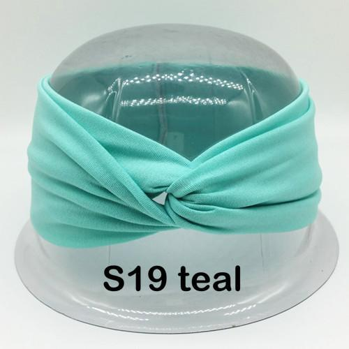 df2644d3d4d648 Twist Turban Headband For Women Bows Elastic Sport Hairbands Head Band Yoga  Headbands Headwear-Accessories
