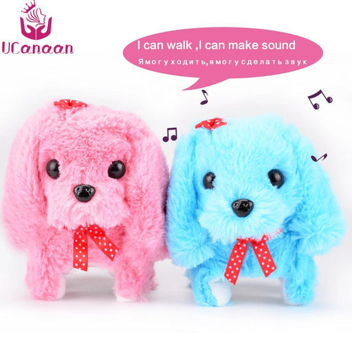 Ucanaan Electronic Interactive Toys Education Toys Walking Sounding Robot Dog Toys Plush Dog Best-UCanaan Official Store-model 1-EpicWorldStore.com